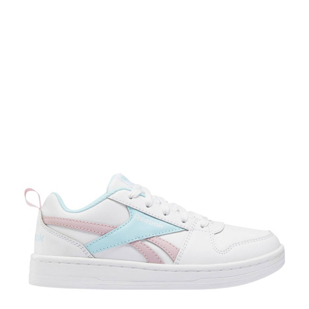 Reebok Classics Royal Prime 2.0 sneakers wit/roze/lichtblauw, Wit/roze/lichtblauw
