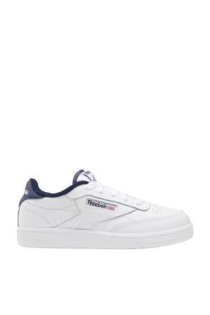 Club C 85 sneakers wit/donkerblauw