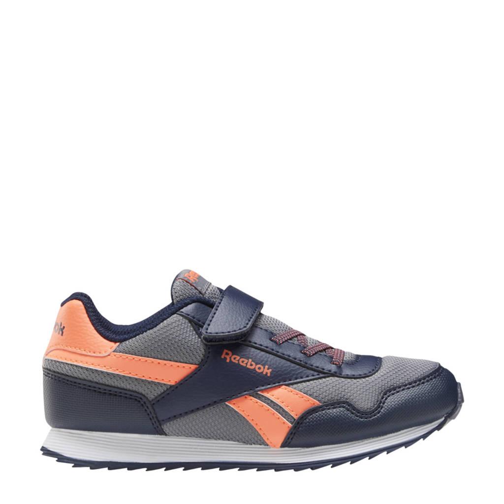 Reebok Classics Royal Classic Jogger 3.0 sneakers donkerblauw/oranje/grijs, Donkerblauw/Oranje/Grijs