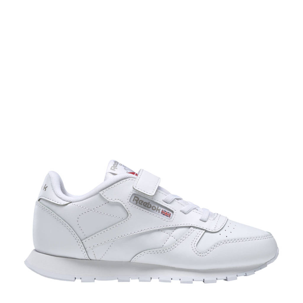 Reebok Classics Classic Leather sneakers wit, Wit/antraciet
