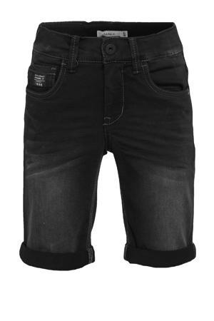 jeans bermuda Sofus zwart