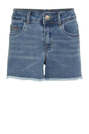 jeans short Randi met biologisch katoen stonewashed