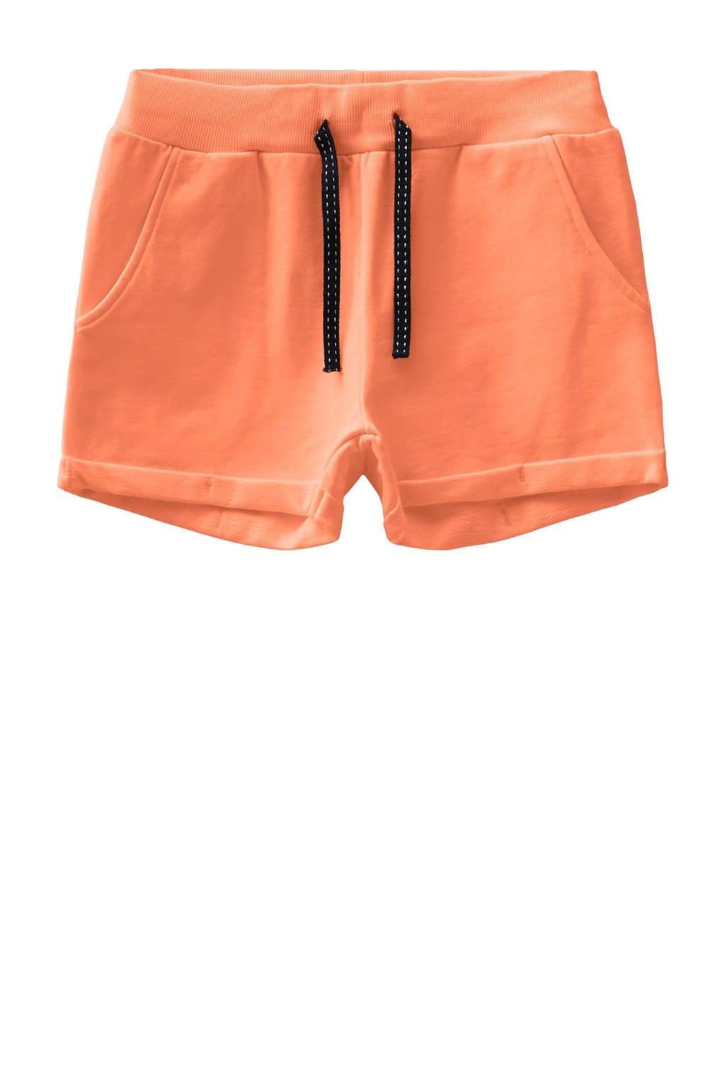 NAME IT KIDS slim fit short Volta met biologisch katoen oranje, Oranje