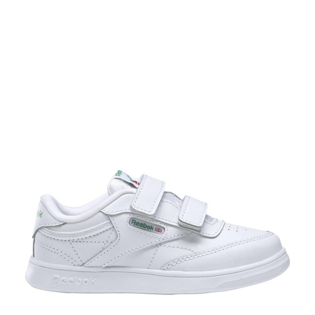 Reebok Classics Club C  sneakers wit/groen, Wit/groen