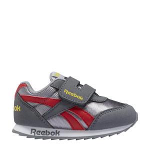 Royal Classic Jogger 2 sneakers grijs/lichtgrijs/rood