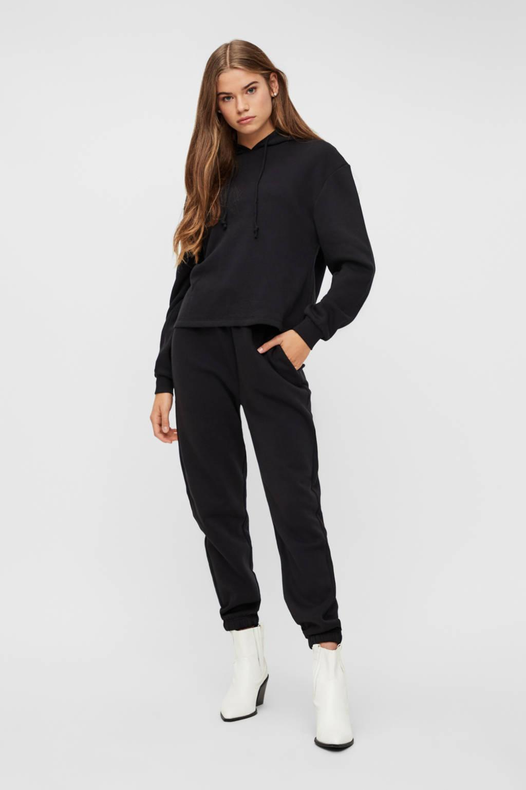 PIECES hoodie Chilli zwart, Zwart