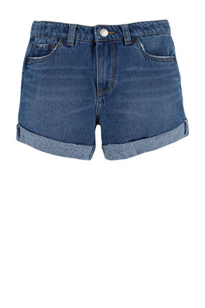 Levi's Kids Girlfriend shorty loose fit jeans short eviema3