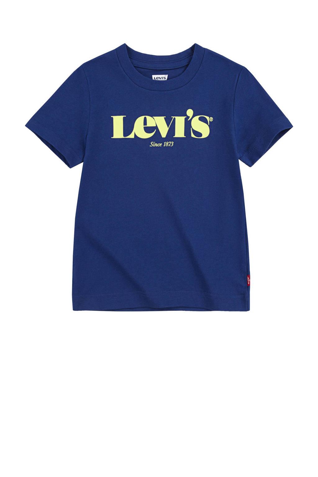 Levi's Kids T-shirt Graphic met logo donkerblauw, Donkerblauw