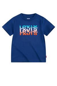 Levi's Kids T-shirt Graphic met logo blauw, Blauw