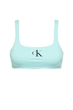 crop bikinitop turquoise