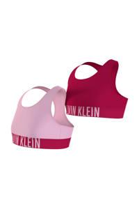 CALVIN KLEIN bh top - set van 2 roze/lichtroze, Roze/lichtroze