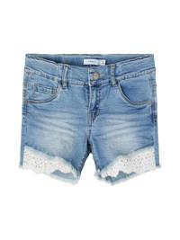 NAME IT KIDS slim fit jeans short Salli blauw, Blauw