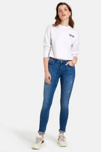 Eksept by Shoeby skinny jeans Eline L32 mediumstone, MEDIUMSTONE