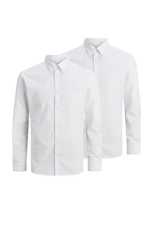 overhemd (set van 2) wit