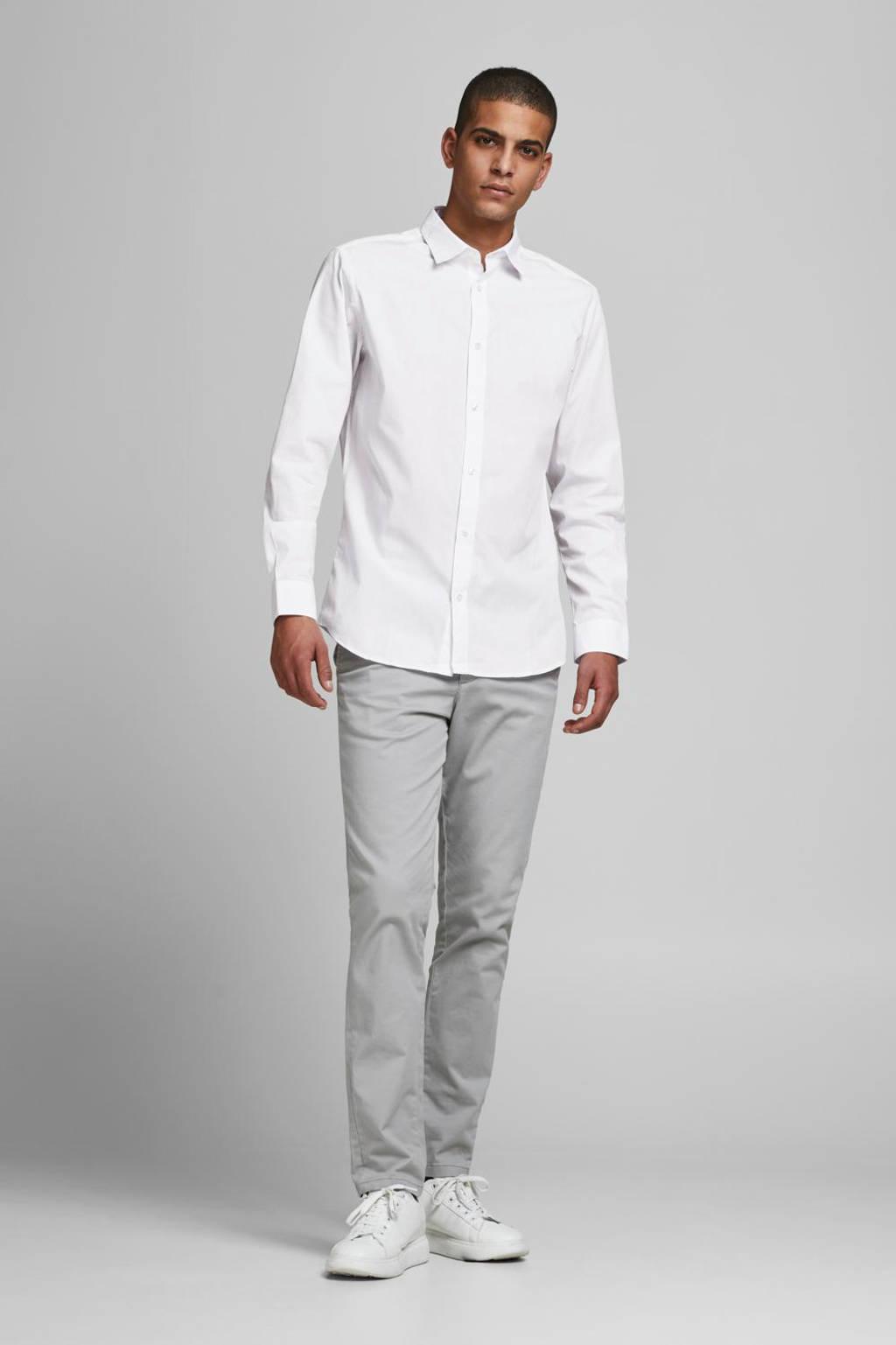 JACK & JONES overhemd (set van 2) wit/zwart, Zwart/wit