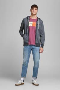 JACK & JONES ORIGINALS gemêleerd vest van gerecycled polyester donkerblauw, Donkerblauw