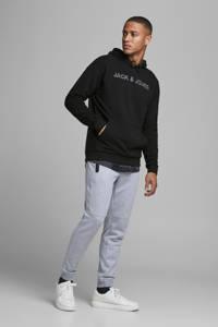 JACK & JONES CORE hoodie met logo zwart, Zwart