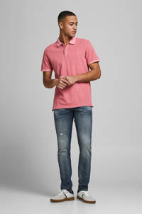 JACK & JONES ESSENTIALS regular fit polo oudroze, Oudroze
