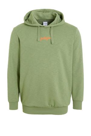 hoodie Stockholm Plus Size groen