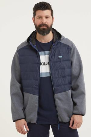 zomerjas Toby Hybrid Plus Size donkerblauw