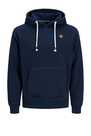 hoodie Tons Plus Size donkerblauw