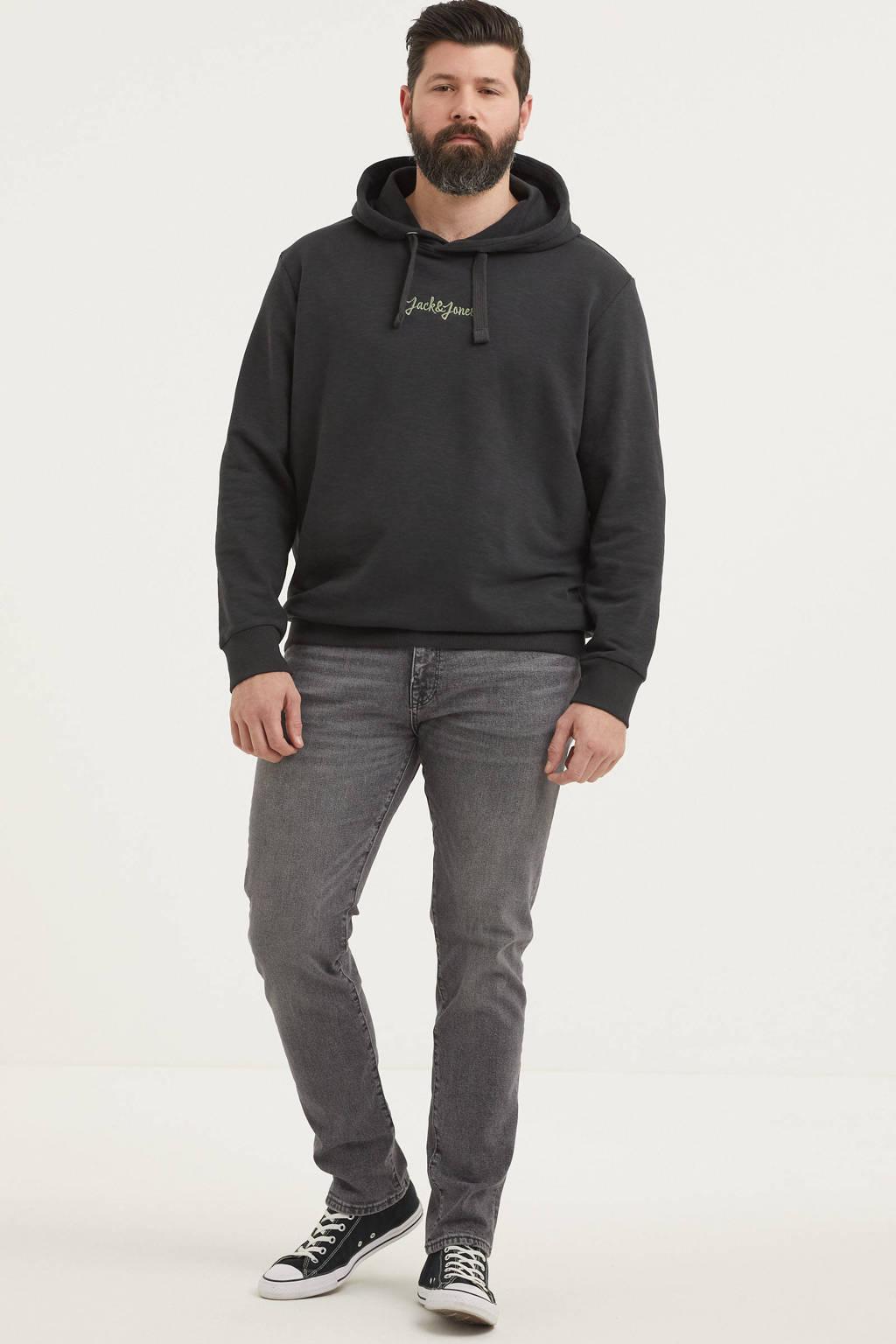 JACK & JONES PLUS SIZE hoodie Stockholm Plus Size zwart, Zwart