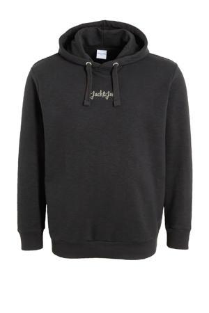 hoodie Stockholm Plus Size zwart