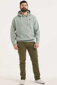 JACK & JONES PLUS SIZE hoodie Tons Plus Size grijsgroen melange, Grijsgroen melange