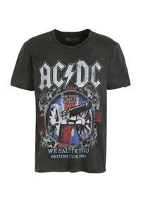 C&A Clockhouse T-shirt met printopdruk zwart, Zwart