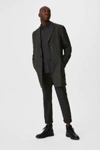 C&A Westbury slim fit overhemd antraciet, Antraciet