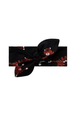haarband tijgers zwart/bruin