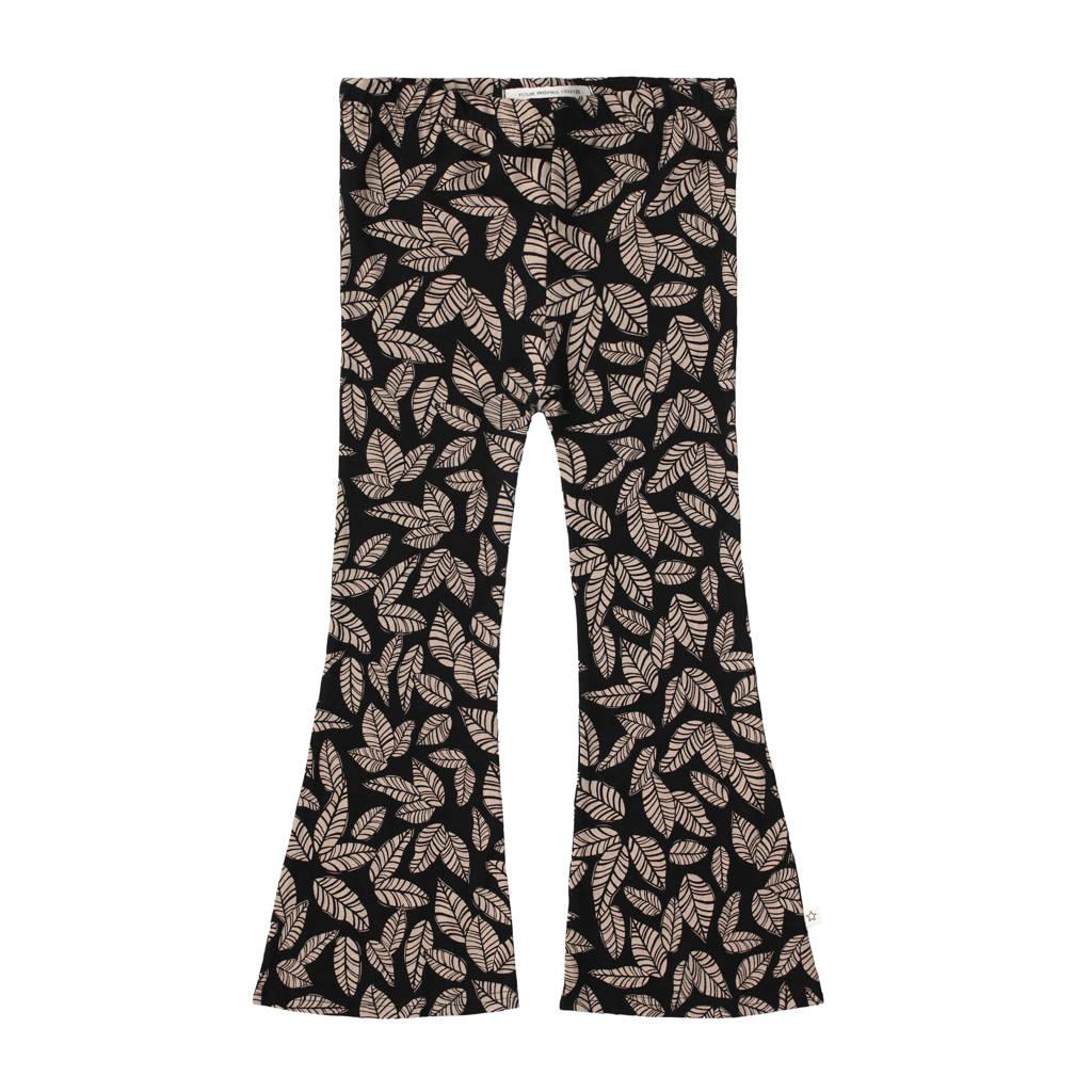 Your Wishes baby broek met biologisch katoen zwart/bruin, Zwart/bruin