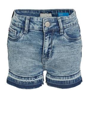 regular fit jeans short Hawa stone bleach used