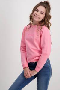 Cars sweater Scarlet met tekst roze, Roze