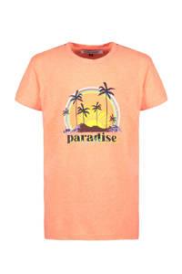 Cars T-shirt Zephira met printopdruk fel oranje, Fel oranje