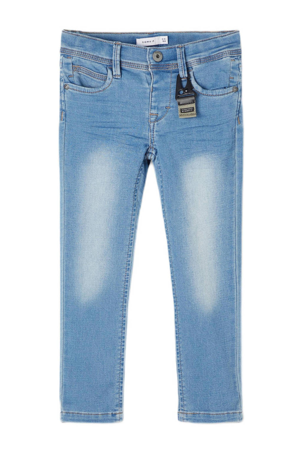 NAME IT MINI slim fit jeans Sofus light blue denim, Light blue denim