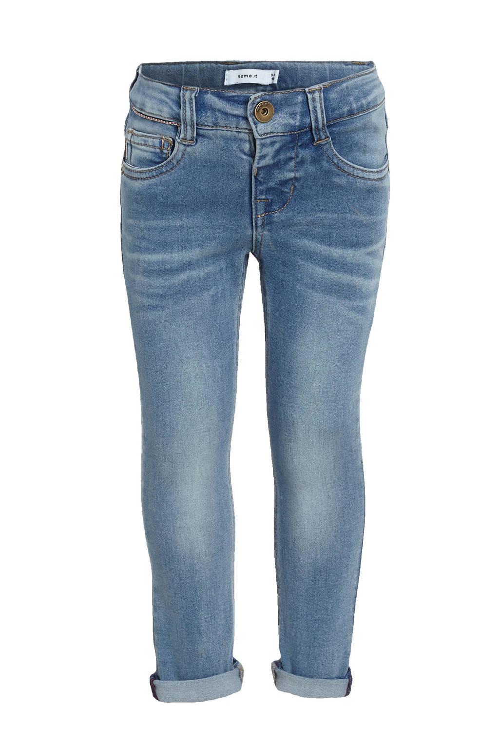 NAME IT MINI slim fit jeans Theo medium blue denim, Medium blue denim