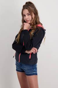 Cars  zomerjas Alfy donkerblauw/roze, Donkerblauw/roze