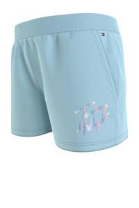 Tommy Hilfiger sweatshort met biologisch katoen lichtblauw, Lichtblauw