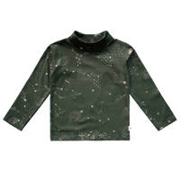 Your Wishes longsleeve met all over print groen, Groen
