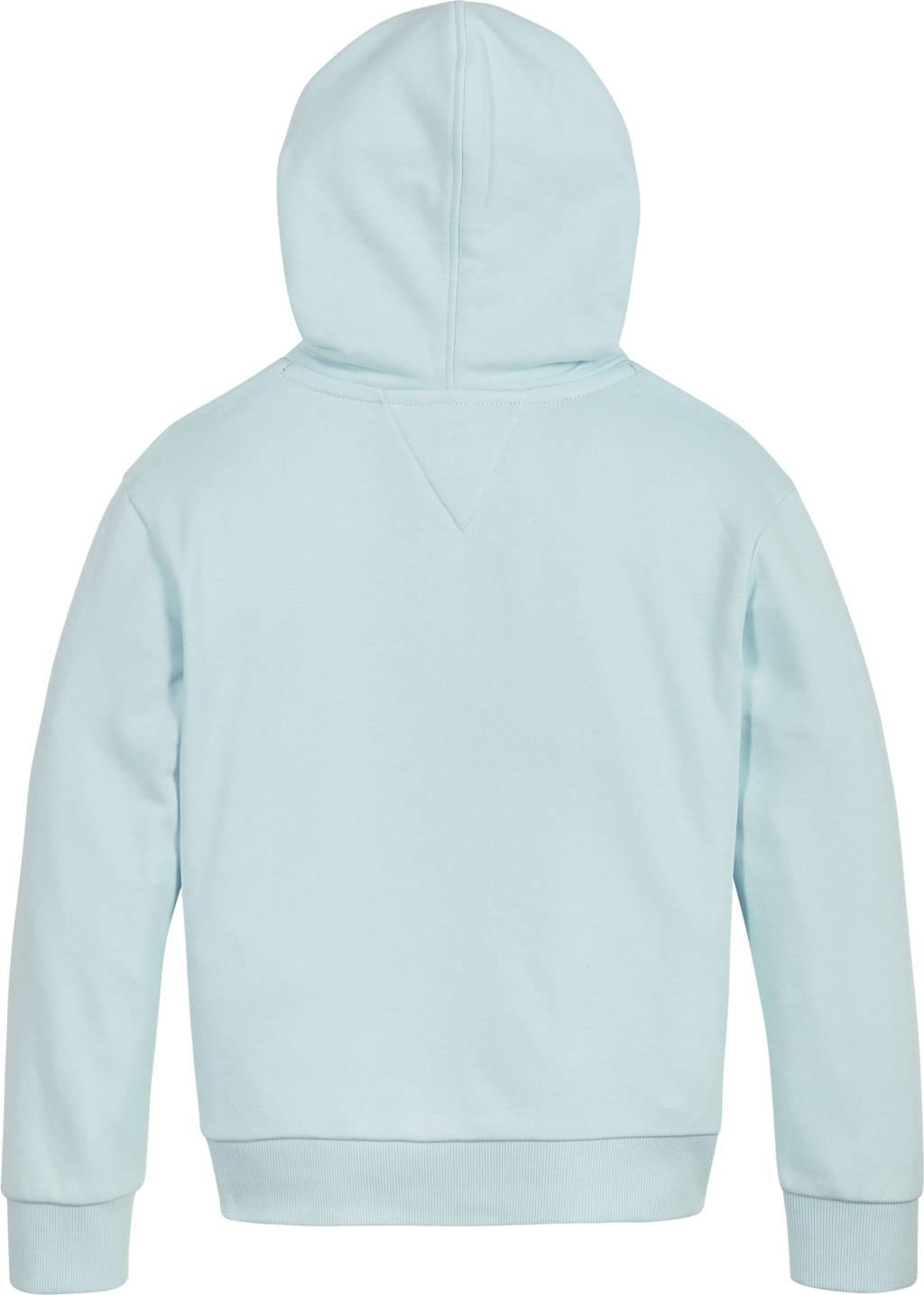 Tommy Hilfiger hoodie met tekst lichtblauw, Lichtblauw