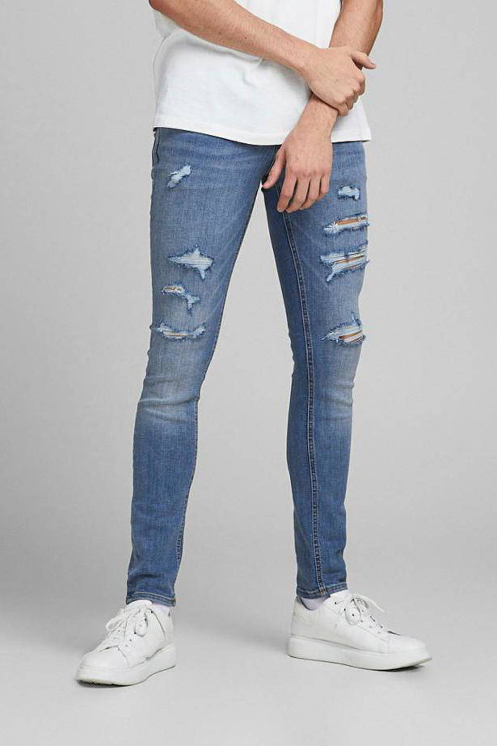 JACK & JONES JEANS INTELLIGENCE skinny jeans Liam blue denim, Blue denim