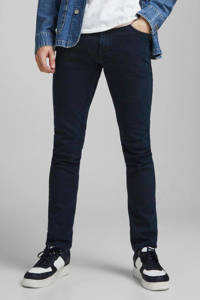 JACK & JONES JEANS INTELLIGENCE slim fit jeans Glenn donkerblauw, Donkerblauw