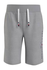 Tommy Hilfiger regular fit sweatshort van biologisch katoen grijs, Grijs