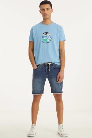 slim fit jeans short Sydney Terry hard blue 379