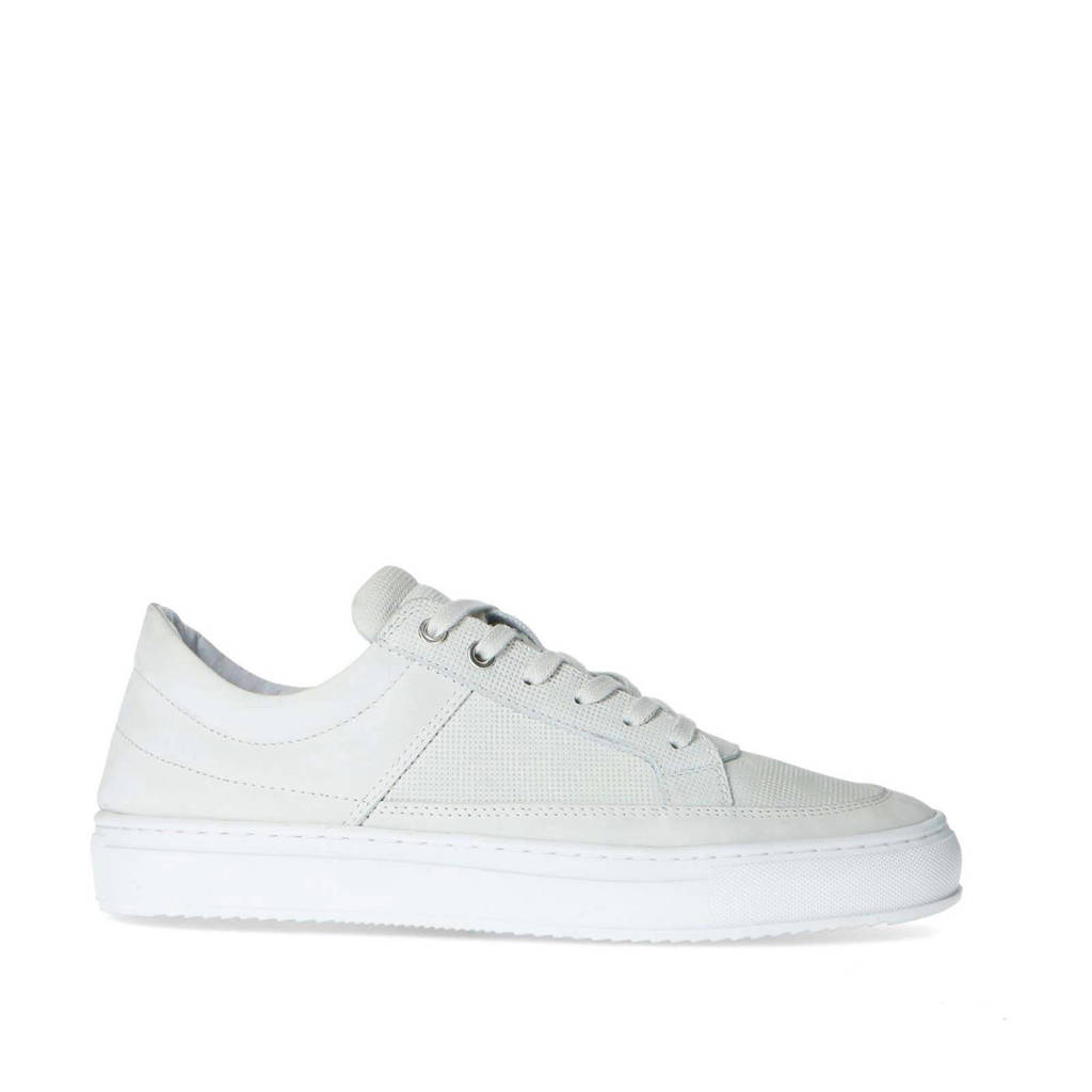 Sacha   nubuck sneakers wit, Wit