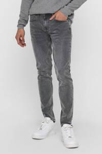 ONLY & SONS skinny jeans Warp Life grijs, Grijs