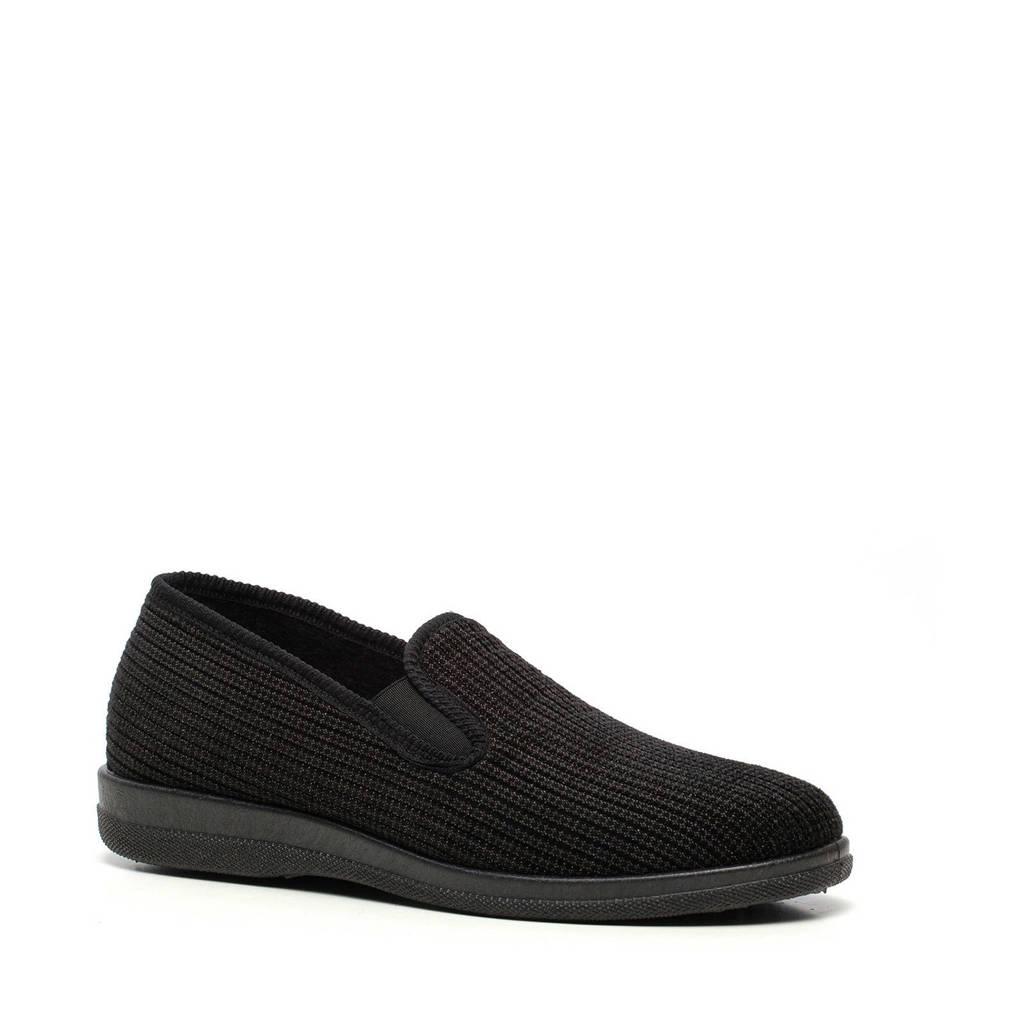 Scapino Thu!s pantoffels zwart, Zwart