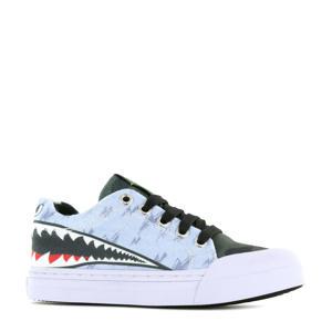 Sharkattack  sneakers lichtblauw