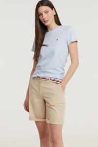 Tommy Hilfiger T-shirt van biologisch katoen lichtblauw, Lichtblauw